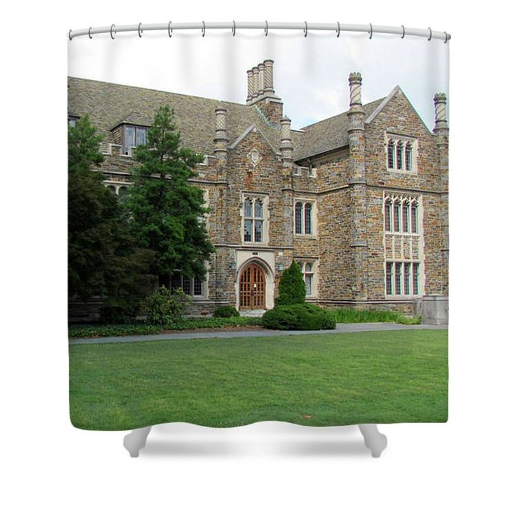 Ancient Stone Building 2 Shower Curtain for Sale by