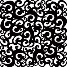 "lace stencil patterns | Chic, Sophisticated ""Goth"" Style Black Lace Cardstock"