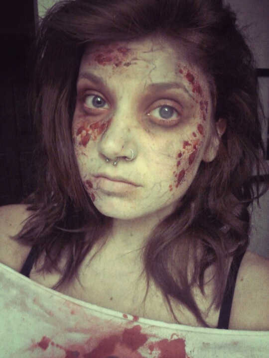 fresh zombie makeup - Zombies Pictures For Halloween