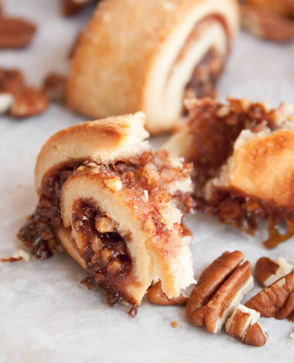 ... these Raspberry Rugelach ‪#‎Cookies‬ by The Merchant Baker