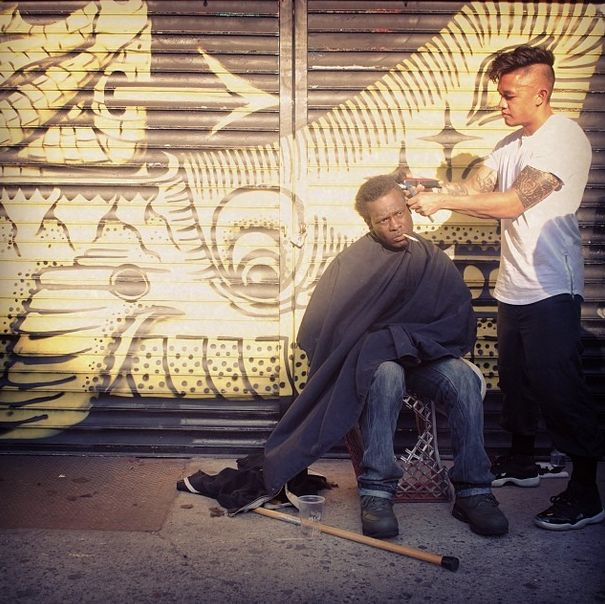 This NYC Stylist Gives Homeless People Free Haircuts | Complex