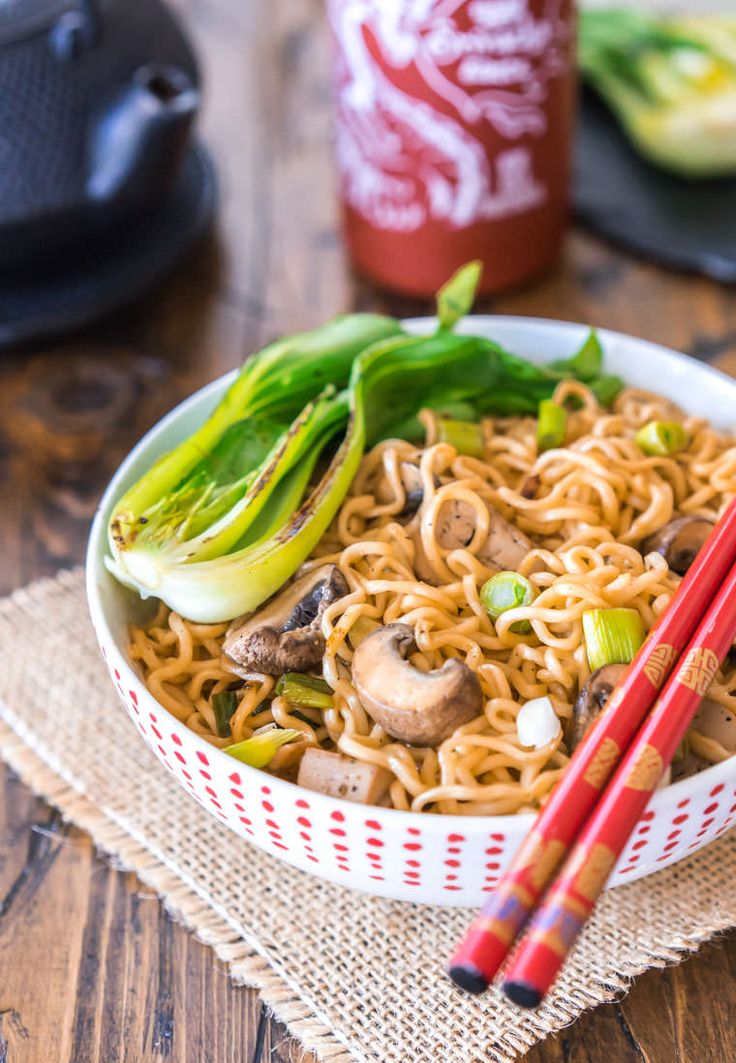 Incredible ramen noodles sautéed with soy, toasted sesame, and lots of veggies.