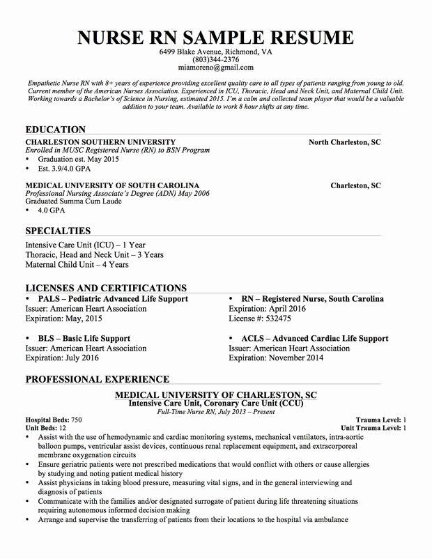 New Graduate Nurse Resume Examples Lovely Best 25 Nursing Resume Ideas On Pinterest Nursing Resume Examples Nursing Resume Template Registered Nurse Resume