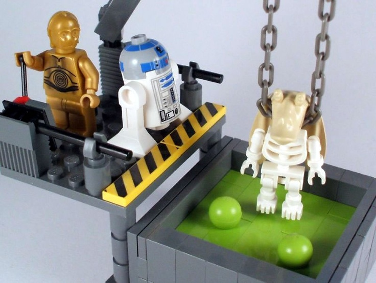 The Lonesome Death of Jar Jar Binks par Luke Chapman - Come visit us at www.hothbricks.com, www.lordofthebric... & www.brickheroes.com for up to date news about LEGO stuff