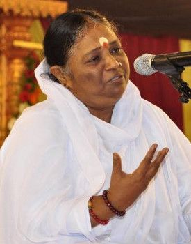 "Meet the extraordinary ""hugging saint"", Mata Amritanandamayi. She is called by her disciples and followers as ""Amma"" or Mother in English. Since the beginning of her spiritual vocation, Mata is believed to have hugged a total of 37 million people coming from all walks of life. She is regarded as one of the most revered spiritual figures by Hindus and other denominations. ""The power of human mind is immeasurable"". Mata Amritanandamayi http://thextraordinary.org/mata-amritanandamayi"