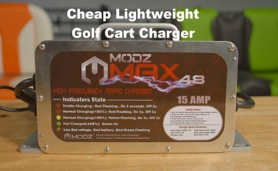 Modz Max 36 48 Volt Golf Cart Battery Charger Video Demo Golfcartparts Golfcart Ezgo Clubcar Golf Carts Golf Cart Batteries Golf
