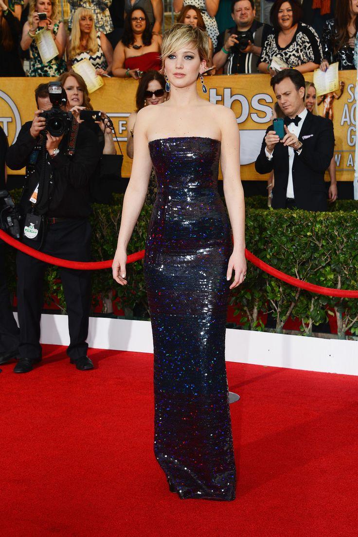 Jennifer Lawrence's Dress at SAG Awards 2014