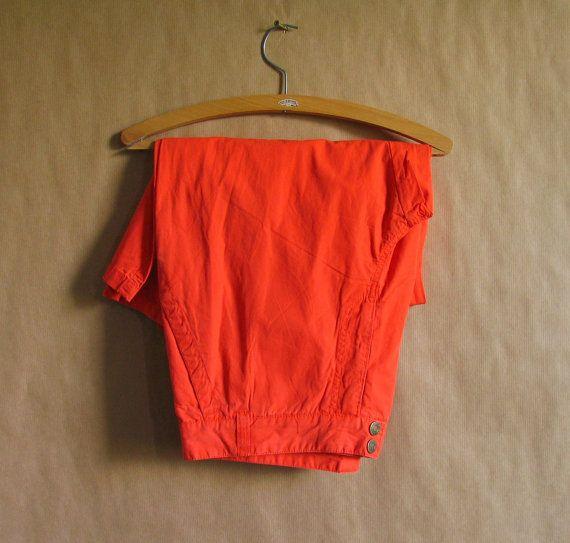 Vintage 1980s Pants Vintage Deadstock  80s Trousers by freshlook93