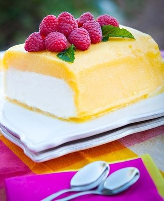 Raspberry lemon sorbet soap idea