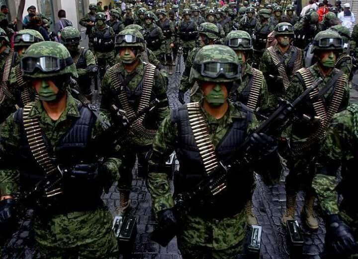 Fuerzas de elite ejercito mexicano