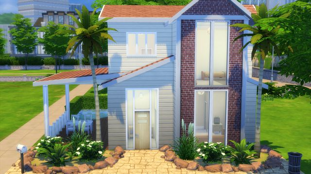 Sims 4 Houses and Lots: Summer Breeze House