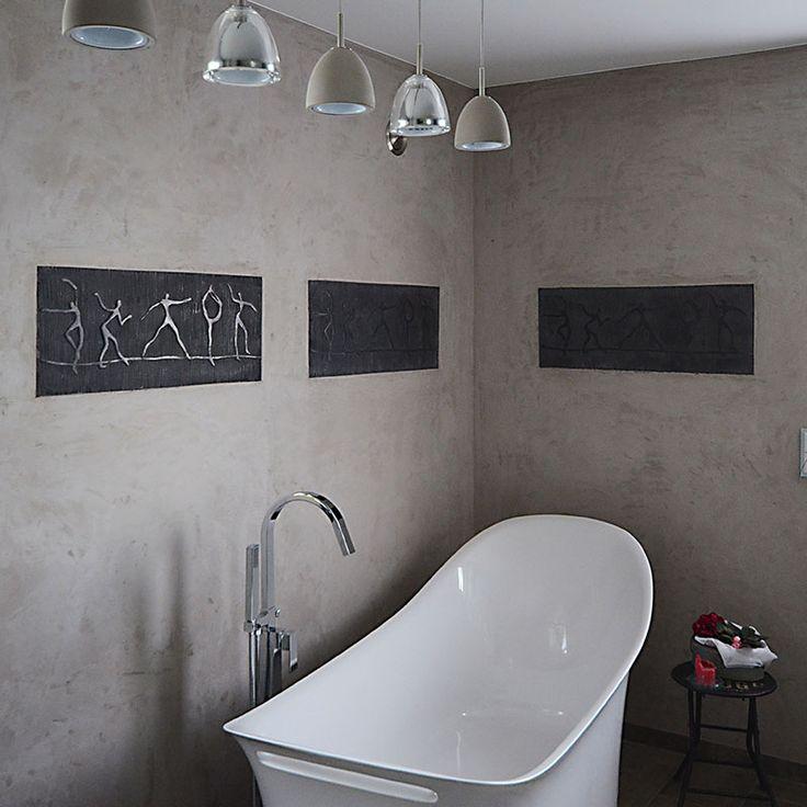 Die besten 25+ Fugenloses bad Ideen auf Pinterest Lichtbeton - badezimmer fliesen reinigen