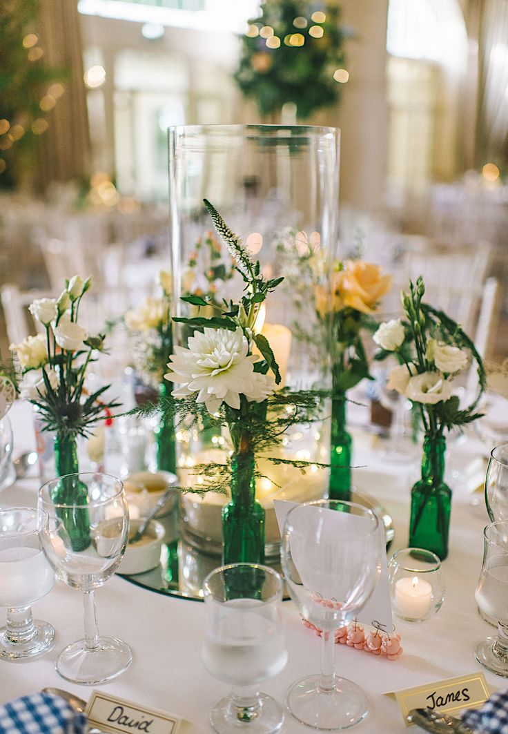 210 best wedding decorations images on pinterest bodas wedding a yorkshire wedding with jess peir gown and gin and tonic decorations junglespirit Choice Image