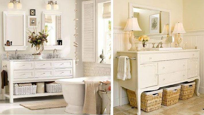 Banheiro provençal