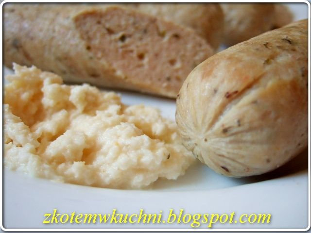 z Kotem w kuchni: Biała Kiełbasa Chrzanowa - Dieta Dukana