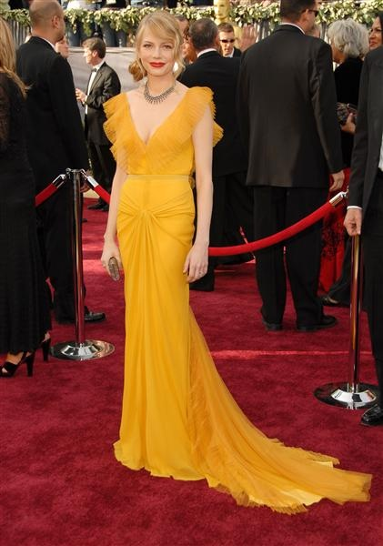 Vera WangVera Wang, Oscar Dresses, Gowns, Red Carpets, Red Lips, Academy Awards, Michelle Williams, Oscars Dresses, Michele Williams
