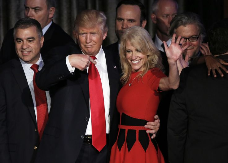 When Donald Trump took office, Conway and her husband, New York City lawyer George T. Conway III, disclosed assets worth up to $39.3 million.