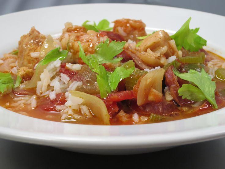 Cajun Jambalaya recipe from Amanda Freitag (American Diner Revival)
