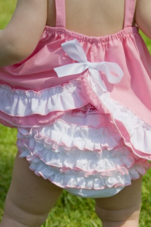 If your a baby girl..you gotta have several pairs of Ruffle bloomers :)  I'm just sayin'   <3