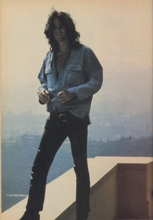 Jim Morrison, always willing to take a walk on the wild side.