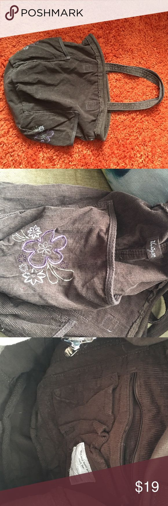 Thirty one tote. Thirty one tote. Brown corduroy so cute!! thirty one Bags Totes