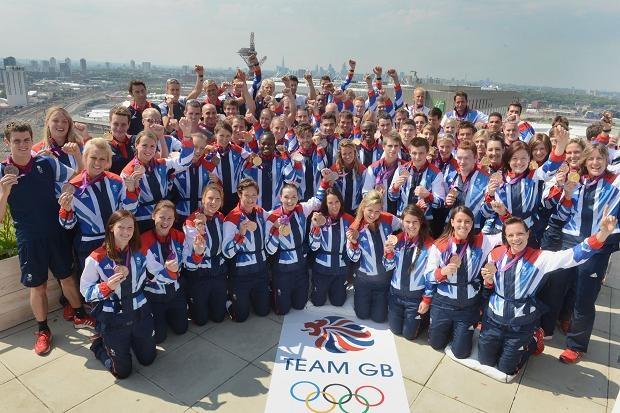 Team GB's medal winners.