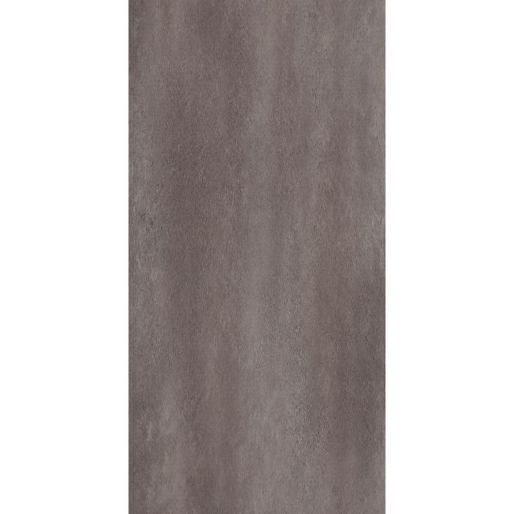 TrafficMASTER Ceramica 12 in. x 24 in. Coastal Grey Resilient Vinyl Tile Flooring (30 sq. ft. / case)-24716C - The Home Depot