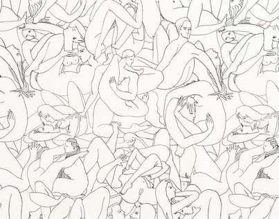 Passionnée par le dessin, l'actrice Louise Bourgoin rencontre l'éditeur de tissus Patrick Frey et lui fait découvrir ses dessins. Particulièrement séduit par la manière de dessiner de Louise Bourgoin, à la plume, quasiment d'un seul trait, s'interdisant de gommer et composant avec ses erreurs, il lui propose de créer une collection pour la Maison Pierre Frey.