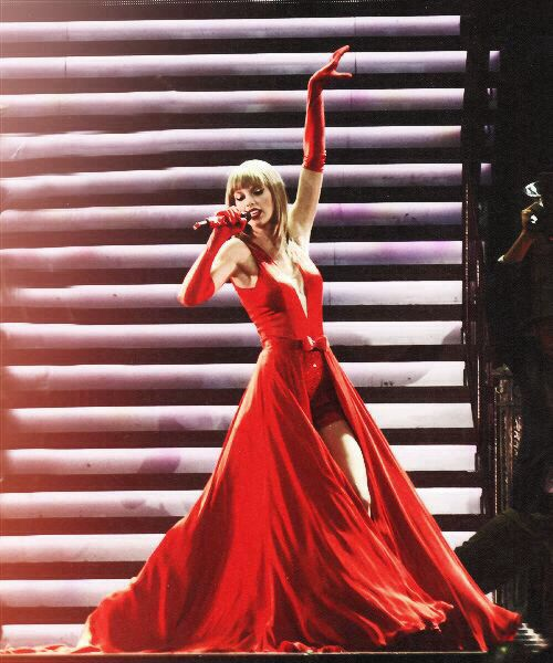 The lucky one amazing red dress