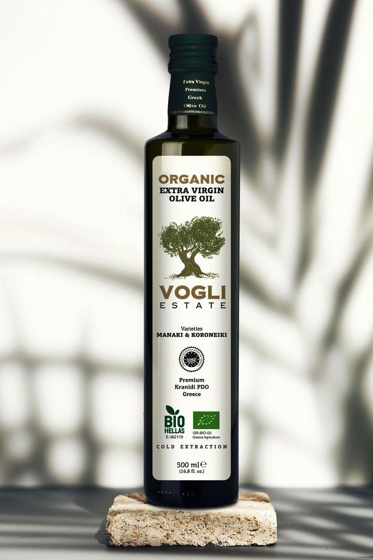 Vogli Organic Extra Virgin Olive Oil from Greece.