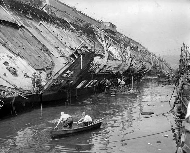 Wreck of the SS Normandie Retronaut | Retronaut - See the past like you wouldn't believe.
