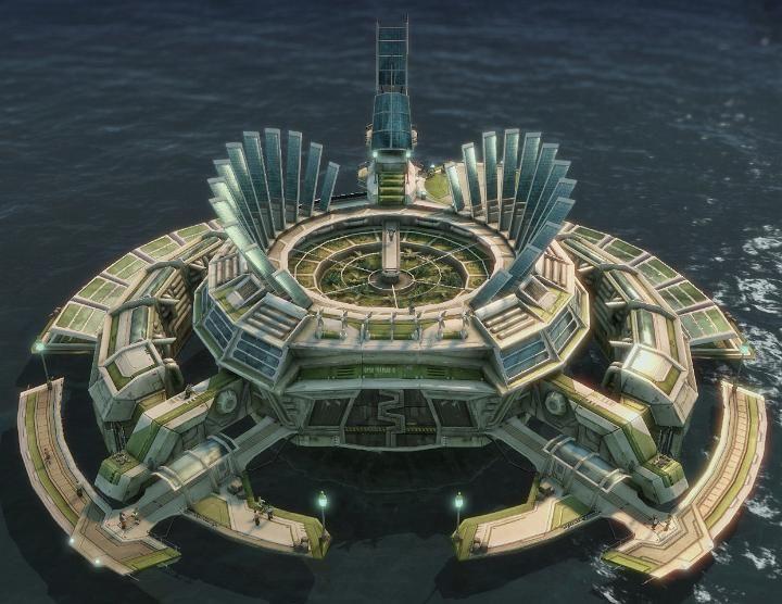 Anno 2070 Küstengebäude