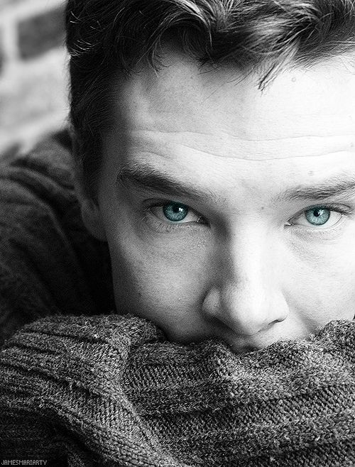 Benedict Cumberbatch. Beautiful photo editing. Gives me a good idea for a senior portrait session ...