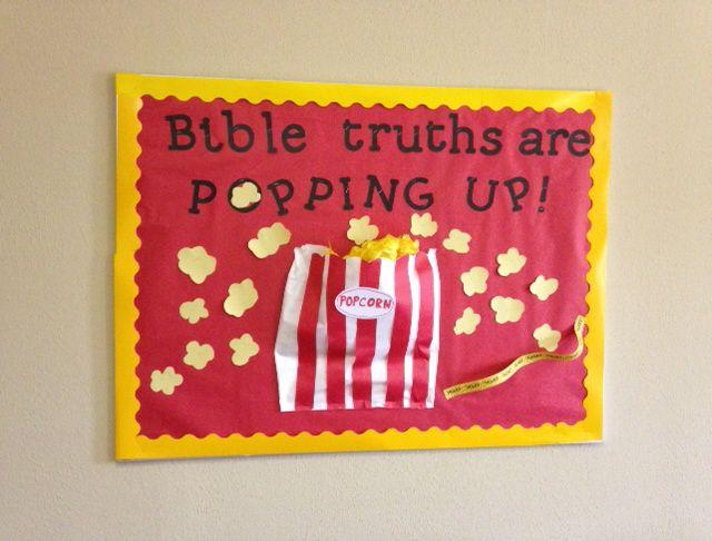Sunday School Classroom Bulletin Boards | BULLETIN BOARDS: