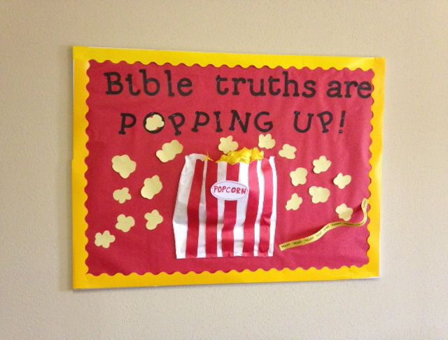 Movie Popcorn Theme for Classroom | ... , Action! Ideas for a Movie-themed Sunday School classroom | BlogHer