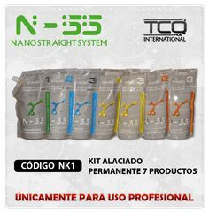 KIT ALACIADO PERMANENTE 7 PRODUCTOS   NANOQUERATINA.NET