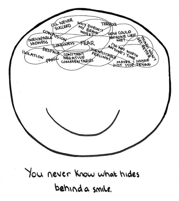 Triber Molly - author of The Doodle Chronicles - describes how drawing has helped her with clinical depression. #mentalhealth