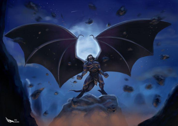 Goliath - Gargoyles by Digraven on DeviantArt
