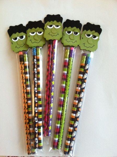 Frankenstein Decorative label punch pencil bags