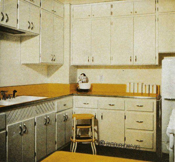 1940s Kitchen Cabinet   Google Search