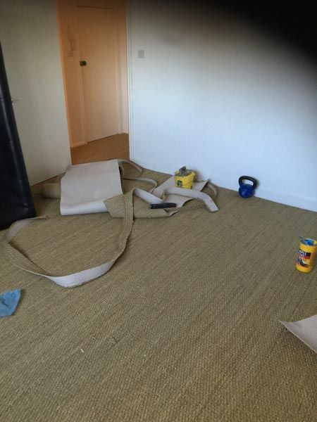 Client: Private Residence In South London Brief: To supply & install sisal carpet to areas