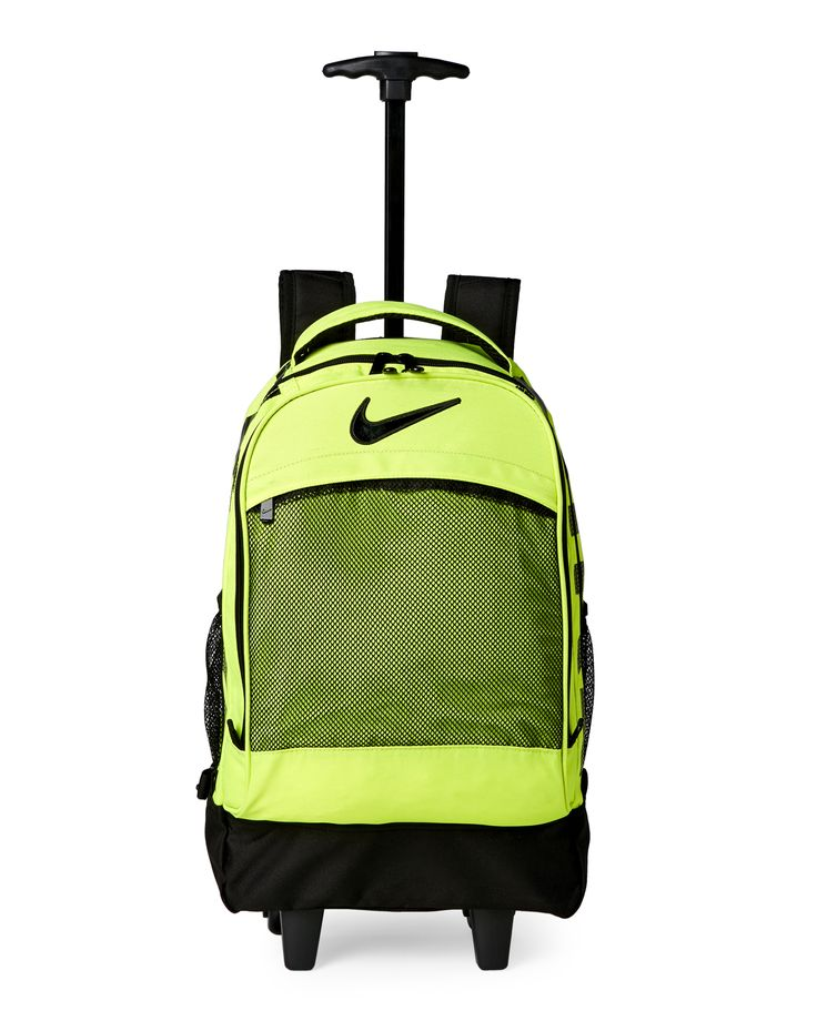 Nike Green & Black Wheeled Backpack