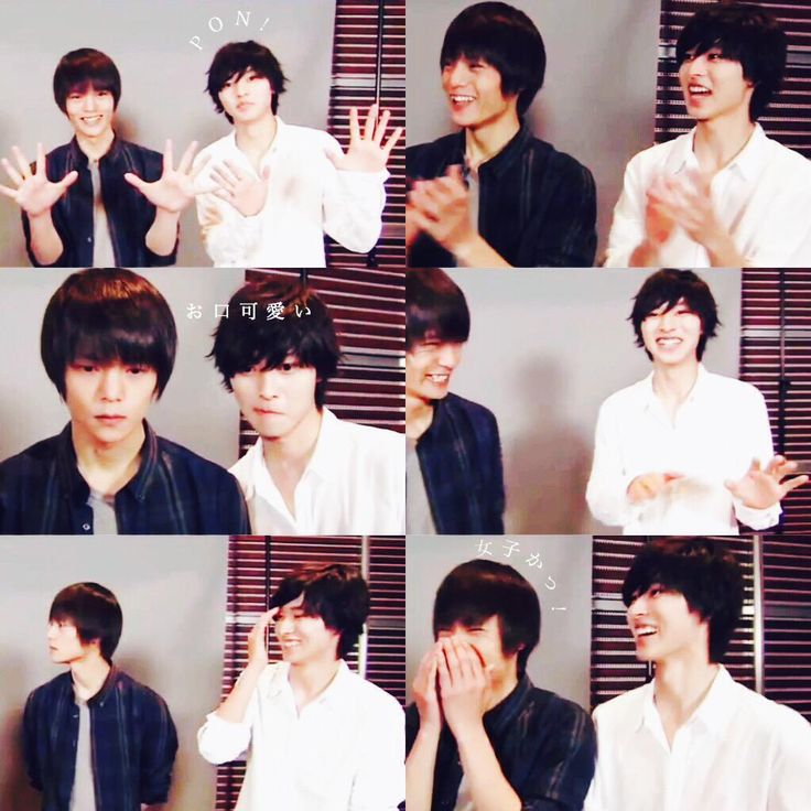 "Kento Yamazaki x Masataka Kubota, J drema ""Death Note"" PR, TV show ""PON"", 05/25/2015 https://www.youtube.com/watch?v=e5TEw_v2ctA"