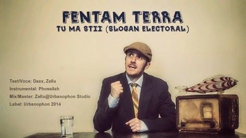 ELADIO prezinta : Hip-Hop Din Romania: Fentam Terra - Tu mă știi (Slogan electoral)