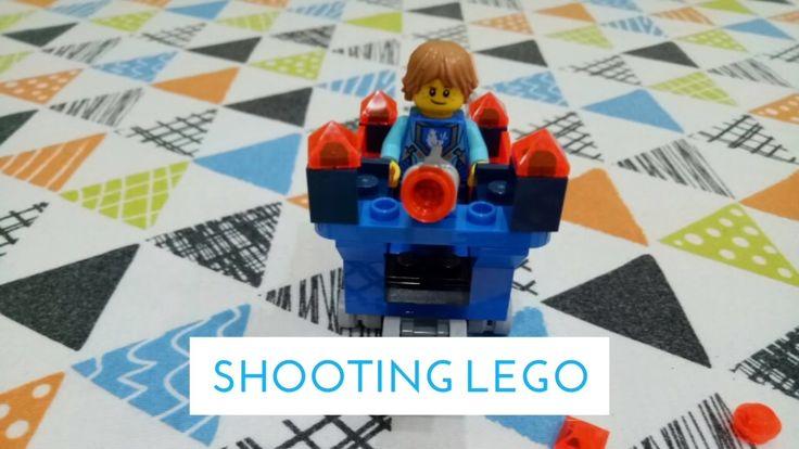Shooting Lego: Nexo Knights - Robin's Mini Fortrex