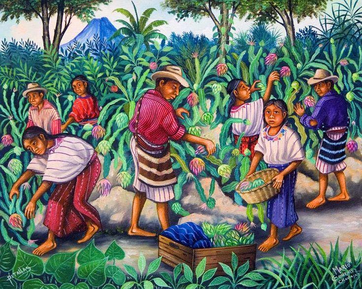Guatemala ~ Matias Gonzalez Chavajay ~ Our Village Fair ...