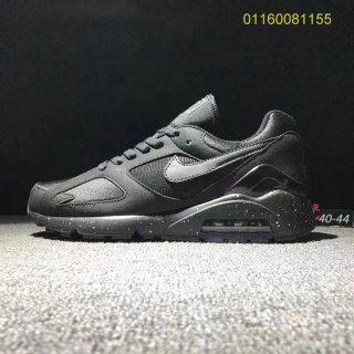 6e0fea51a67a Mens Shoes Sport swear Nike Air Max 180 Triple Black