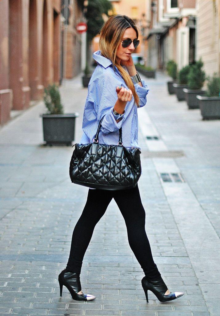 Los leggins nunca pasarán de moda. Aprende a combinarlos en... http://www.1001consejos.com/outfits-con-leggings/