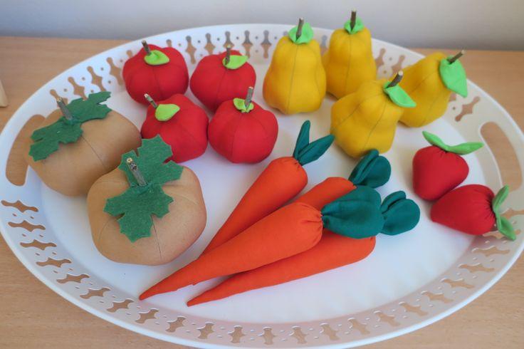 šité ovocie