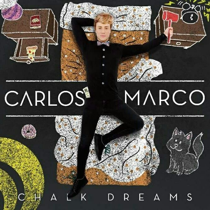 Carlos Marco: Chalk dreams - 2017.
